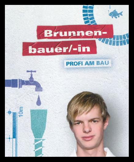 Druckversion Flyer Ausbildung zum Brunnenbauer/in